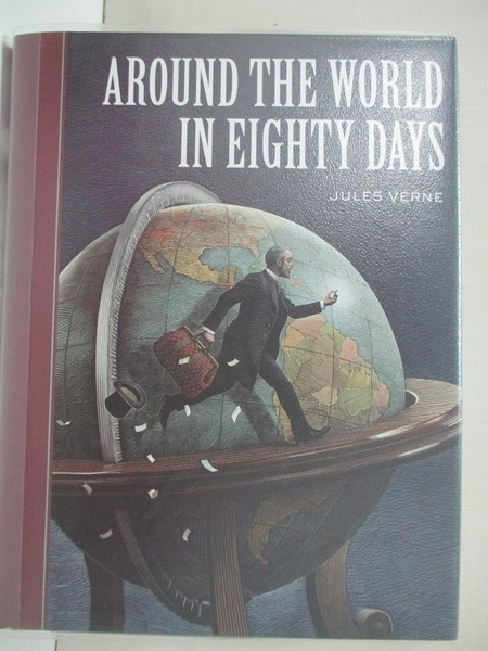【書寶二手書T4/少年童書_IE6】Around the World in Eighty Days_Verne, Jules/ McKowen, Scott (ILT)