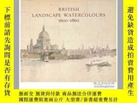二手書博民逛書店British罕見Landscape Watercolours,