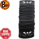 丹大戶外【BUFF】西班牙魔術防風保暖頭巾Windstopper Cyclone秋冬款 BF108284 飛翔骷髏