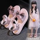 女童涼鞋兒童沙灘鞋子2021夏季新款小女孩公主鞋軟底寶寶鞋中大童 科炫數位