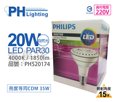 PHILIPS飛利浦 LED 飛凡 PAR30L 20W 15度 4000K SO 燈泡 保固3年 (取代CDM 35W)_PH520174
