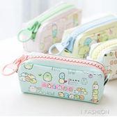 筆袋韓國簡約女生角落生物文具盒初中生大容量高中生大拉鏈筆包-ifashion