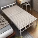 折疊床單人床辦公室午睡簡易雙人出租房便攜1.2米家用午休硬板床 快速出貨