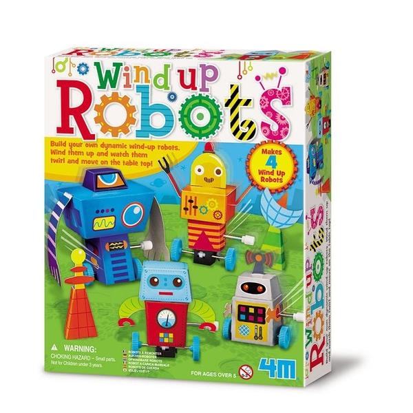 【4M】04655 美勞創作-機器人樂園 Wind Up Robots
