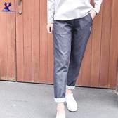 【春夏新品】American Bluedeer - 舒適牛仔長褲(特價) 春夏新款