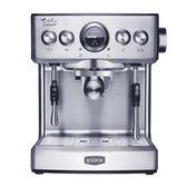 意式咖啡機家用商用全半自動蒸汽式煮咖啡壺220V 衣間迷你屋LX