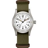 Hamilton 漢米爾頓 卡其野戰系列軍風機械錶 H69439411