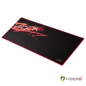 【i-Rocks】艾芮克 IRC20W 紅色 ROCK系列 大尺寸滑鼠墊 [富廉網]