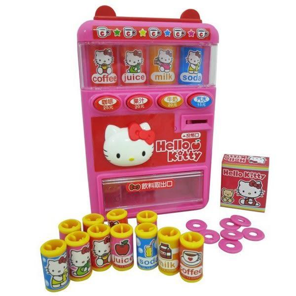 Hello Kitty 自動販賣機 辦家家酒 正版 兒童玩具 (購潮8)