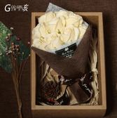 禮物香皂玫瑰花生日禮物女生母親節diy肥皂花花束禮盒玫瑰 愛麗絲精品