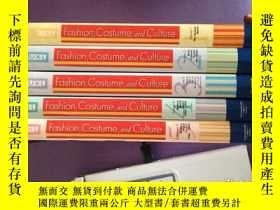 二手書博民逛書店英文原版fashion罕見costume and culture volume 1-5 時尚服飾文化卷1-5(全5