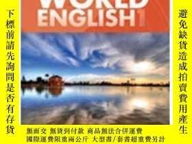二手書博民逛書店World罕見English 1 With Cdrom: Middle East Edition (world E