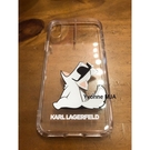 Yvonne MJA卡爾拉格菲爾德預購區 KARL LAGERFELD 卡爾貓老佛爺 正版 iphoneX XS 手機殼