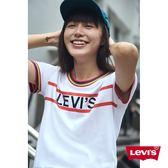Levis T恤 女裝 / 短袖純棉TEE / 彩色滾邊