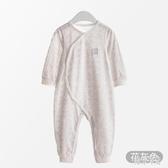 嬰兒連體衣夏裝薄款哈衣春夏季新生幼兒寶寶睡衣空調服zt319 『美好時光』