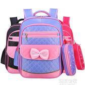 兒童書包小學生女1-3-4-6一年級6-12周歲可愛女孩雙肩包韓版減負igo『潮流世家』