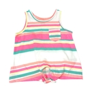 瑕疵-女童無袖上衣 背心衣服 彩條紋   Carter s卡特童裝 (嬰幼兒/寶寶/新生兒/兒童/小朋友/小孩)