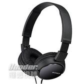 預購【曜德視聽】SONY MDR-ZX110 黑色 立體聲頭戴耳機 簡約摺疊設計