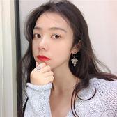 雙12購物節   顯臉小的多層水晶纏繞流蘇耳環韓國時尚氣質金屬圓圈耳釘耳墜R884   mandyc衣間