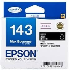 EPSON T143151原廠墨水匣 高印量XL (黑色雙包裝)★適用機型:ME900WD/ME960FWD/ME82WD/ME940FW/WF-7011/W