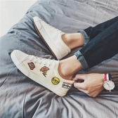 帆布鞋青少年鞋子男夏季韓版潮流原宿小白鞋帆布鞋百搭文藝休閒板鞋聖誕交換禮物