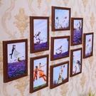 簡約照片墻裝飾創意相框掛墻7寸九宮格 st445『寶貝兒童裝』
