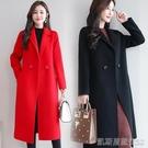 長款外套新款大衣外套女中長款秋冬季媽媽裝韓版寬鬆氣質女士風衣 【快速出貨】