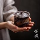 粗陶快客杯 日式陶瓷茶具手抓壺 功夫手抓...