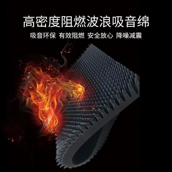 風機隔音棉墻體消音棉高密度阻燃室內降噪錄音棚鼓房吸音棉工業棉