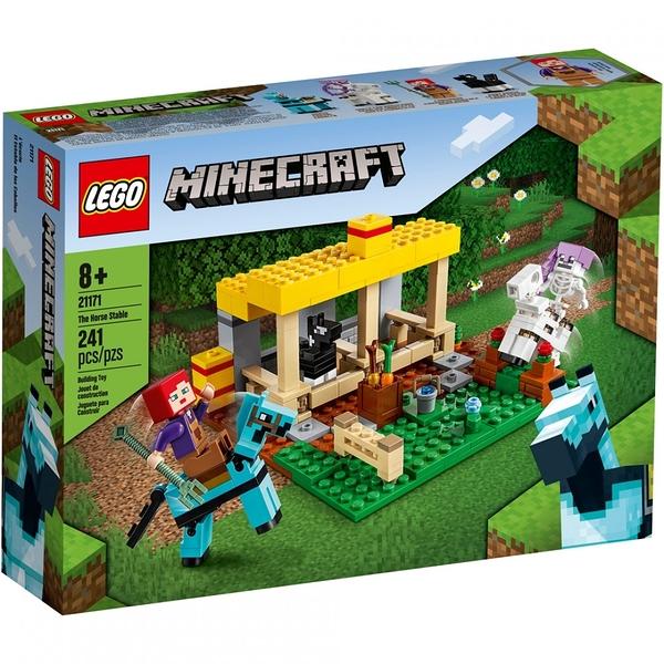 樂高積木 LEGO《 LT21171 》Minecraft 麥塊系列 - The Horse Stable / JOYBUS玩具百貨