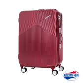 AT美國旅行者 29吋Air Ride 2/8開彈力滑輪PC硬殼行李箱(酒紅)