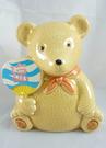 【震撼精品百貨】日本泰迪熊 ~ 造型煙灰缸『熊拿扇-涼』