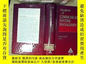二手書博民逛書店Handbook罕見of communications syst