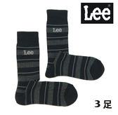 日本進口現貨✦LEE 全氣墊襪/運動毛巾襪/中筒男襪/襪子 - 3雙組【YS SHOP】