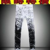 牛仔褲-風靡有型單寧男休閒長褲59i15[巴黎精品]
