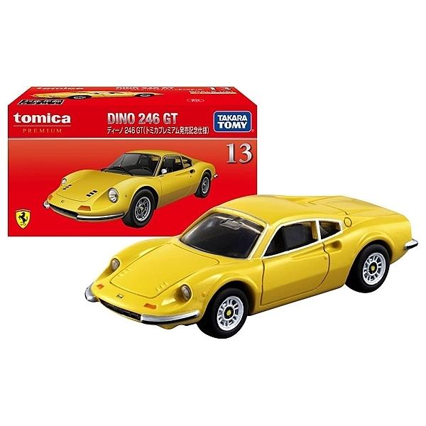 【震撼精品百貨】TOMICA 多美小汽車 黑盒DINO 246GT 法拉利 -黃*13185