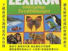 二手書博民逛書店TIER罕見LEXIKON :4000garbage TierabbildungenY17030