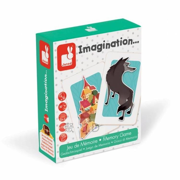 【法國 Janod】趣味桌遊 - J02753 故事接龍 Imagination