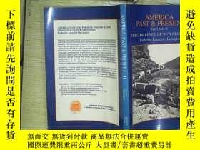 二手書博民逛書店AMERICA:PAST&PRESENT罕見2Y203004