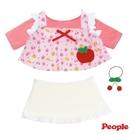 日本 POPO-CHAN-洋娃娃 新水果長版裙裝組合 370元