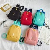 潮字母簡約小孩書包新款時尚男女童雙肩包兒童旅游包學生輕便背包