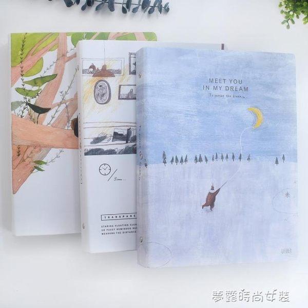 日本maruman PLACIDE法國產亞麻活頁本 30孔/A4