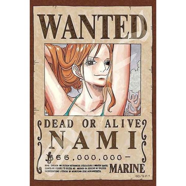 【日本進口拼圖】迷你拼圖 海賊王/航海王/One Piece 懸賞單 娜美 (150片) ES150-560