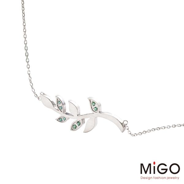 MiGO 青春白鋼項鍊