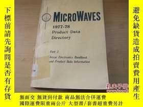 二手書博民逛書店1977-78罕見Product Data Directory