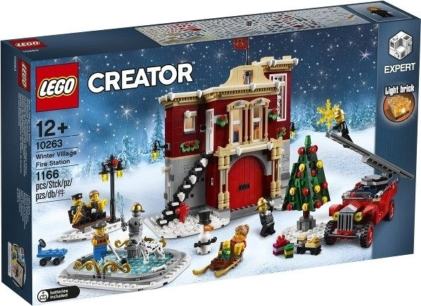 【LEGO樂高】冬季消防局(Winter Village Fire Station)#10263