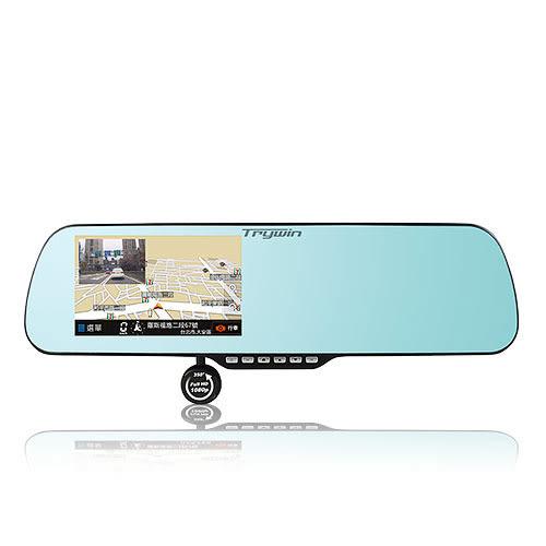 【含16G記憶卡】Trywin 碁碩實業 3DX Mirror 5吋 導航 測速 後視鏡 行車記錄器
