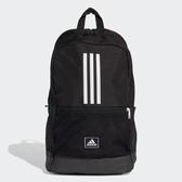 Adidas CLAS BP 3S 大容量黑色經典後背包-NO.FJ9267