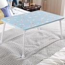 床上書桌摺疊桌學生寢室寫字桌懶人桌宿舍多功能桌女生床上小桌子 現貨快出