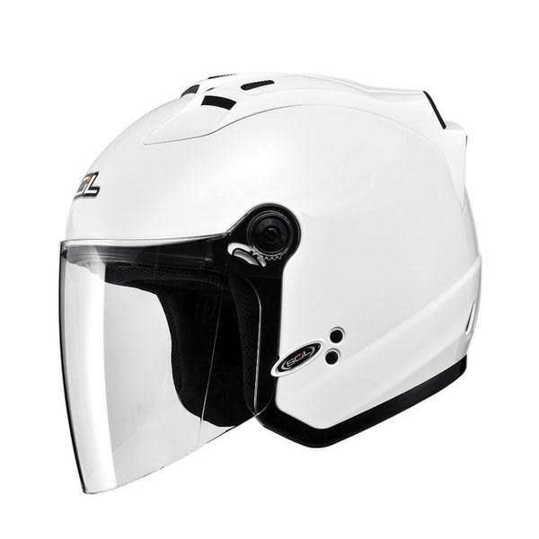 SOL罩安全帽,27S,素色/白